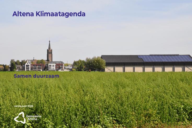 Altena's Klimaatagenda: eerste ideeën om CO2-uitstoot te verminderen op een rij