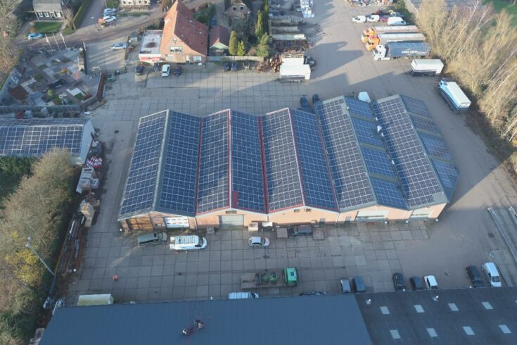 Derde zonnedak levert aan Altena Nieuwe Energie